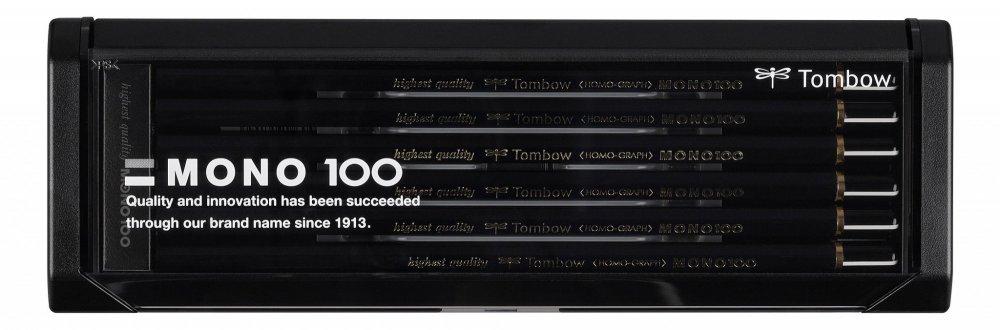 Tombow Tužka MONO 100, sada 12 ks různých tvrdostí