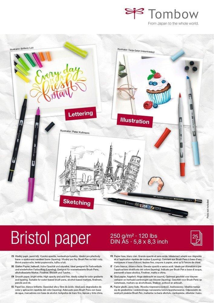 Kreslicí blok Bristol A5