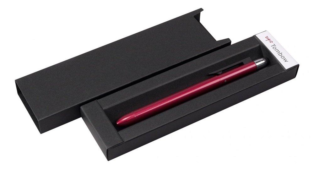 Multifunkční pero ZOOM L104, 5v1, červená