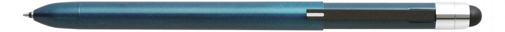 Multifunkční pero ZOOM L104, 5v1: černé & červené kulličkové pero, 0.5 mm mikrotužka, guma + touch pen, zelená