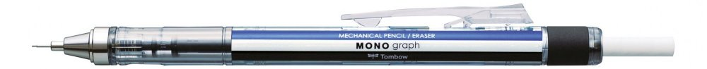 Mikrotužka MONO graph, modrá/bílá/černá