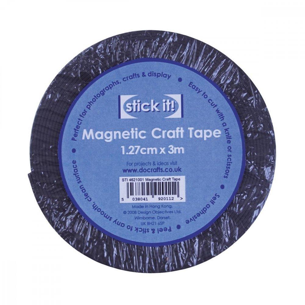 Magnetická samolepící páska 1,27cmx3m