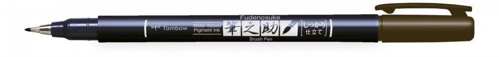 Tombow Štětcový fix Fudenosuke, brown