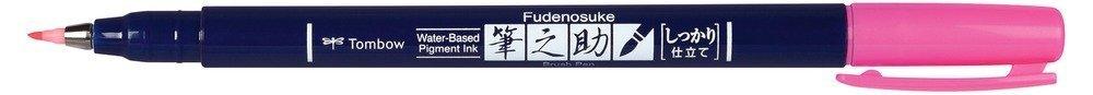 Tombow Štětcový fix Fudenosuke, neon pink