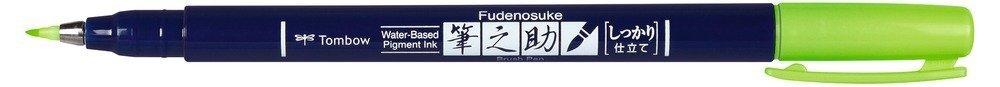 Tombow Štětcový fix Fudenosuke, neon green