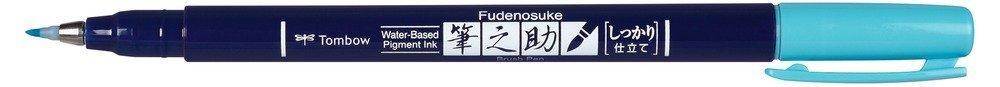 Fudenosuke BRUSH PEN – WS-BH – tvrdost 1, neon blue