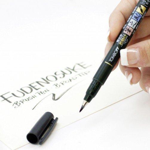 Fudenosuke BRUSH PEN – WS-BS - tvrdost 2