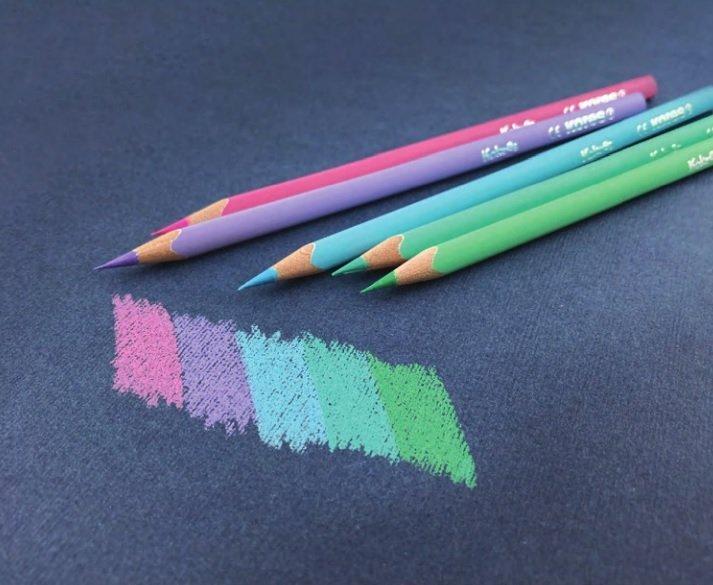 Kolores PASTEL trojhranné pastelky, 3 mm / 24 barev