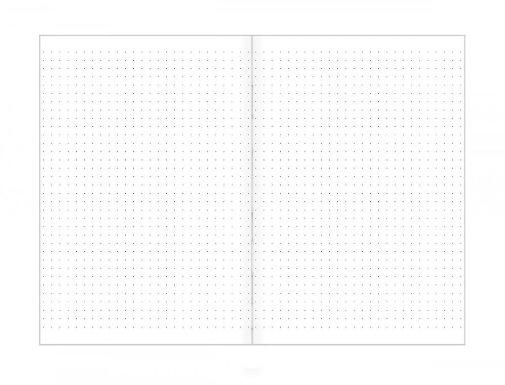 Tečkovaný zápisník, kozy na stromě, 195 x 135 mm