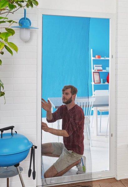 Síť proti hmyzu COMFORT, do dveří, antracitová, 2x 0,65m x 2,5m