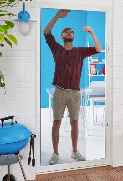 Síť proti hmyzu COMFORT, do dveří, bílá, 2x 0,65m x 2,5m