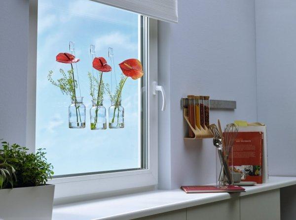 Samolepicí průhledný dekorační háček na sklo 1kg