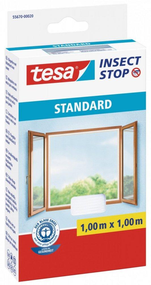 Síť proti hmyzu STANDARD, na okno, bílá, 1m x 1m