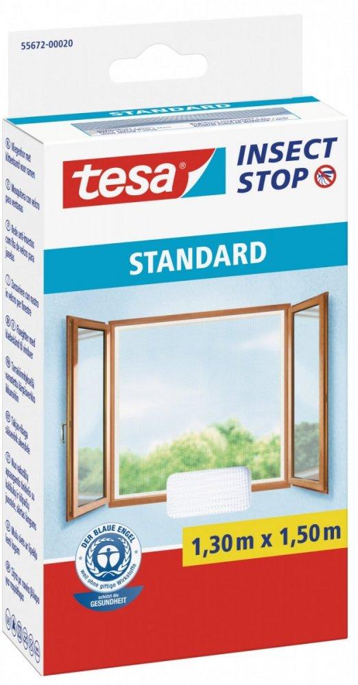 Síť proti hmyzu STANDARD, na okno, bílá, 1,3m x 1,5m