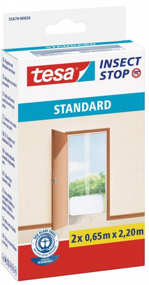 Síť proti hmyzu STANDARD, do dveří, bílá, 2x 0,65m x 2,2m
