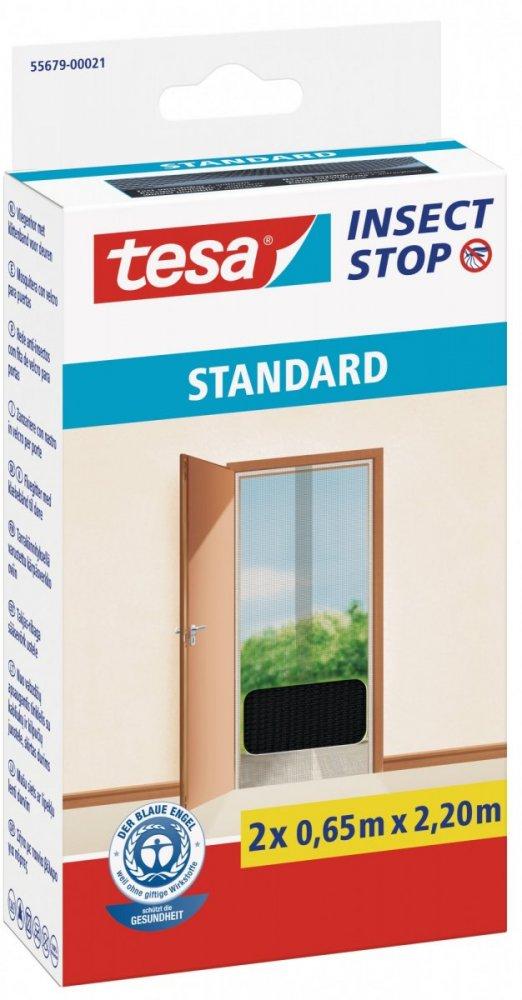 Síť proti hmyzu STANDARD, do dveří, antracitová, 2x 0,65m x 2,2m