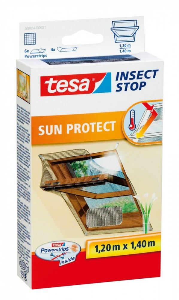 Síť proti hmyzu do střešního okna COMFORT, odráží sluneční paprsky, 1,3m x 1,5m