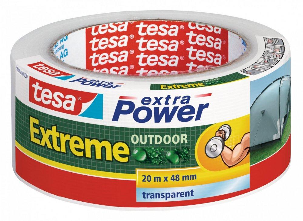 Extra Power EXTREME OUTDOOR, UV odolnost 1 rok, průhledná, 20m x 48mm