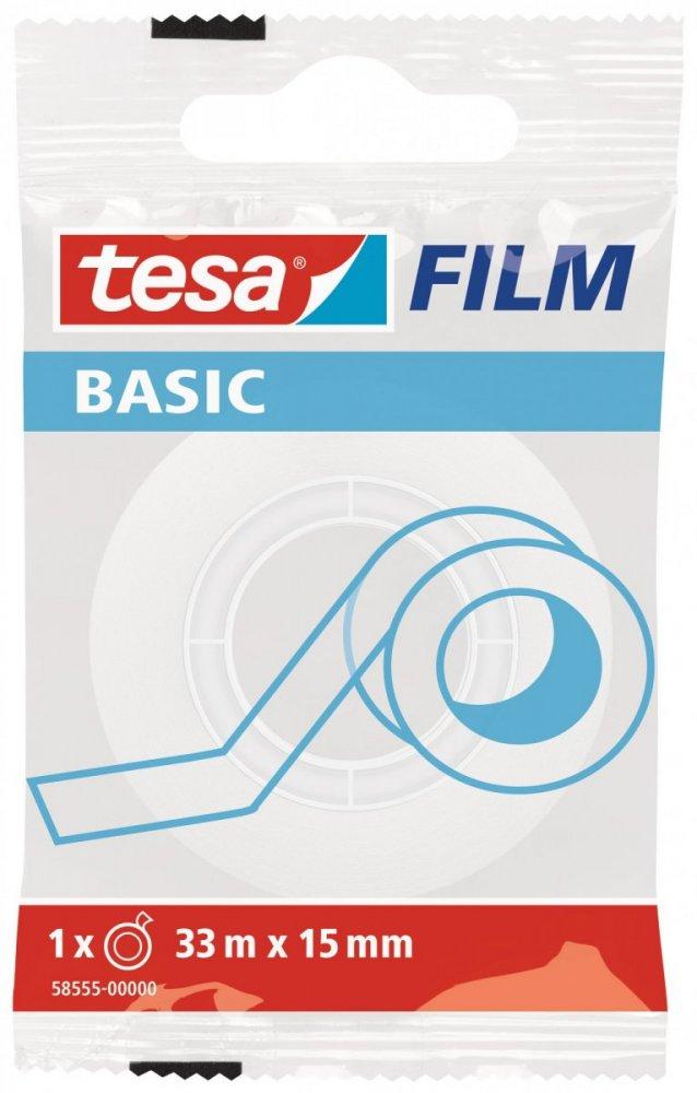 Basic neviditelná kancelářská páska transp. 33X15mm