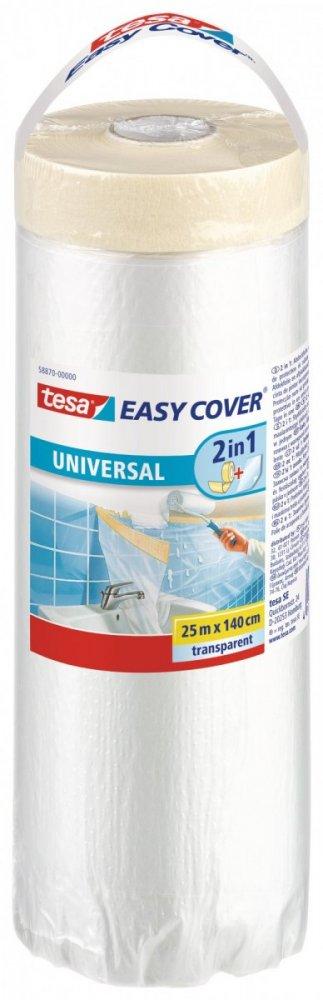 Easy Cover, standard kombinace fólie a malířské pásky, náplň, průhledná, 25m x 140 cm