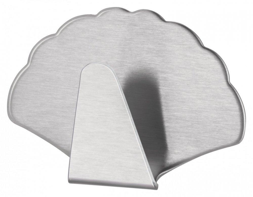 Permanent Háčky, tvar velryba a ulita, ocelové, pro lehké předměty, v balení 2ks