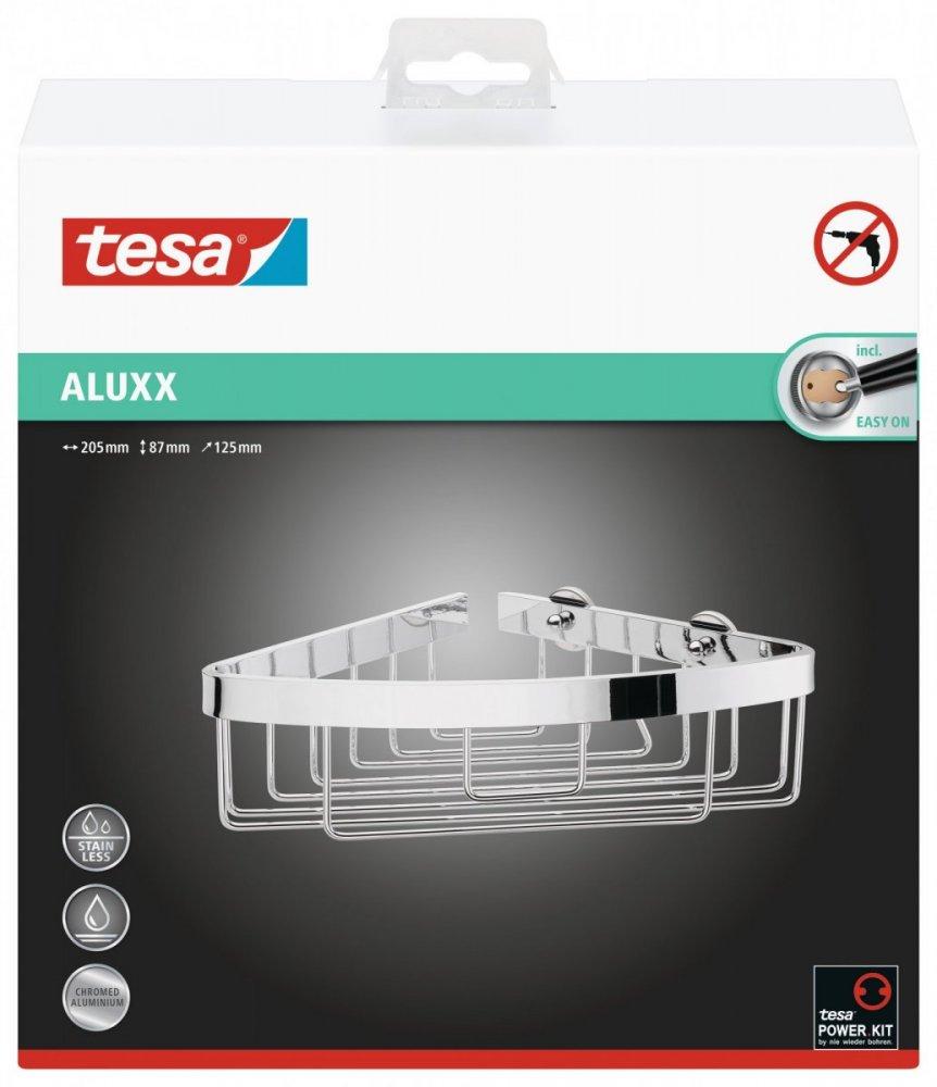Aluxx Rohový košík, malý 87mm x 205mm x 125mm