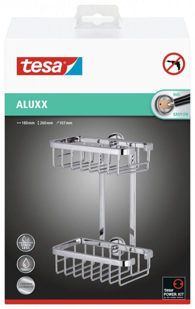Aluxx Odkládací košík dvoupatrový, menší 260mm x 180mm x 107mm