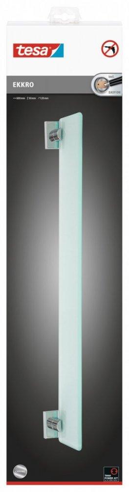 Ekkro Skleněná polička 50mm x 120mm x 600mm