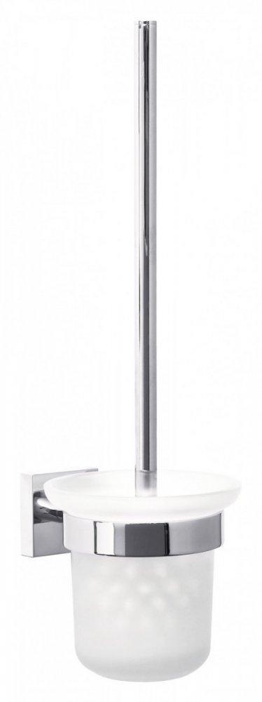 Ekkro Souprava WC štětky s držákem 390mm x 147mm x 116mm