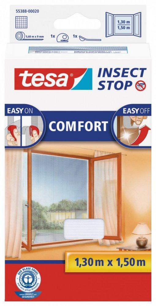 Síť proti hmyzu COMFORT, na okno, bílá, 1,3m x 1,5m