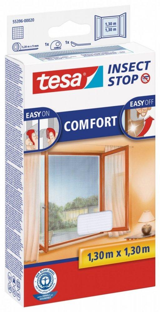 Síť proti hmyzu COMFORT, na okno, bílá, 1,3m x 1,3m
