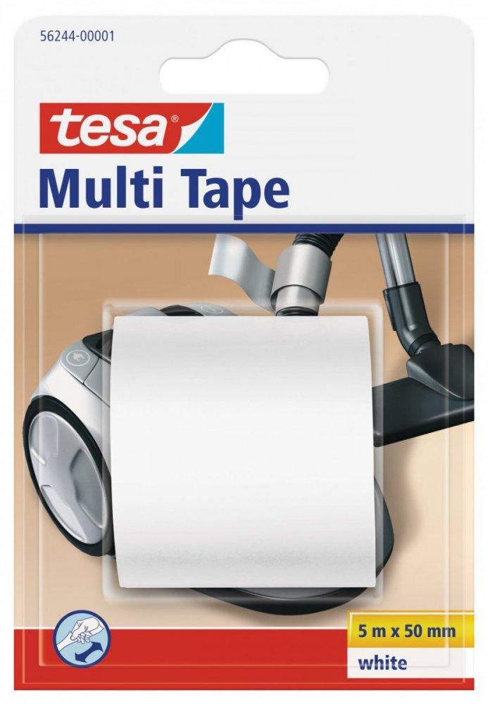 Multitape, univerzální opravná PVC páska, bílá, 5m x 50mm