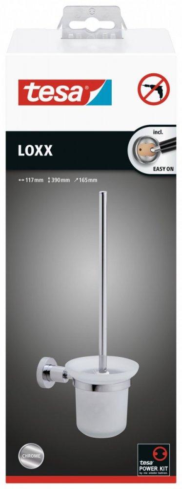Loxx Souprava WC štětky s držákem 390mm x 165mm x 117mm