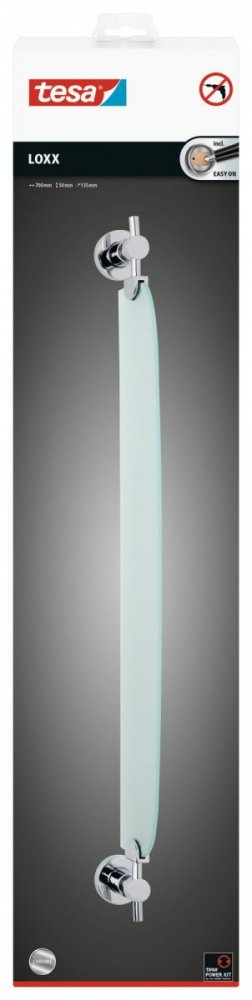 Loxx Skleněná polička 50mm x 135mm x 700mm