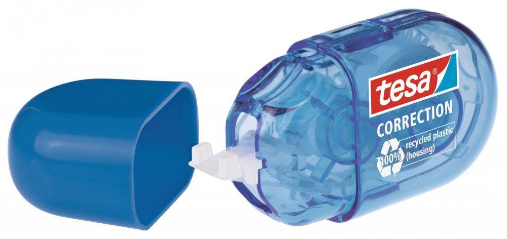 Roller Mini, Opravný korekční strojek, modrý, jednorázový, 6m x 5mm
