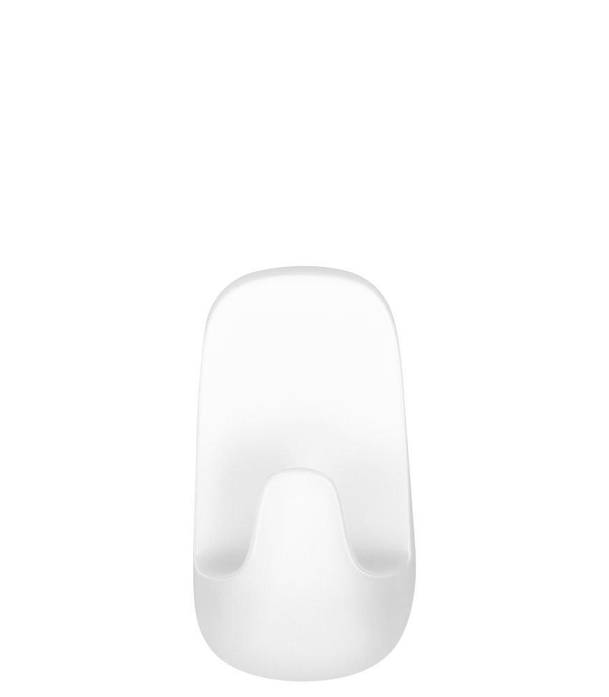 Voděodolné malé háčky – plast, bílé