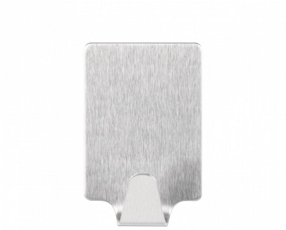 Permanent Háčky, obdélníkové háčky větší L, ocelové, pro lehké předměty, v balení 2ks