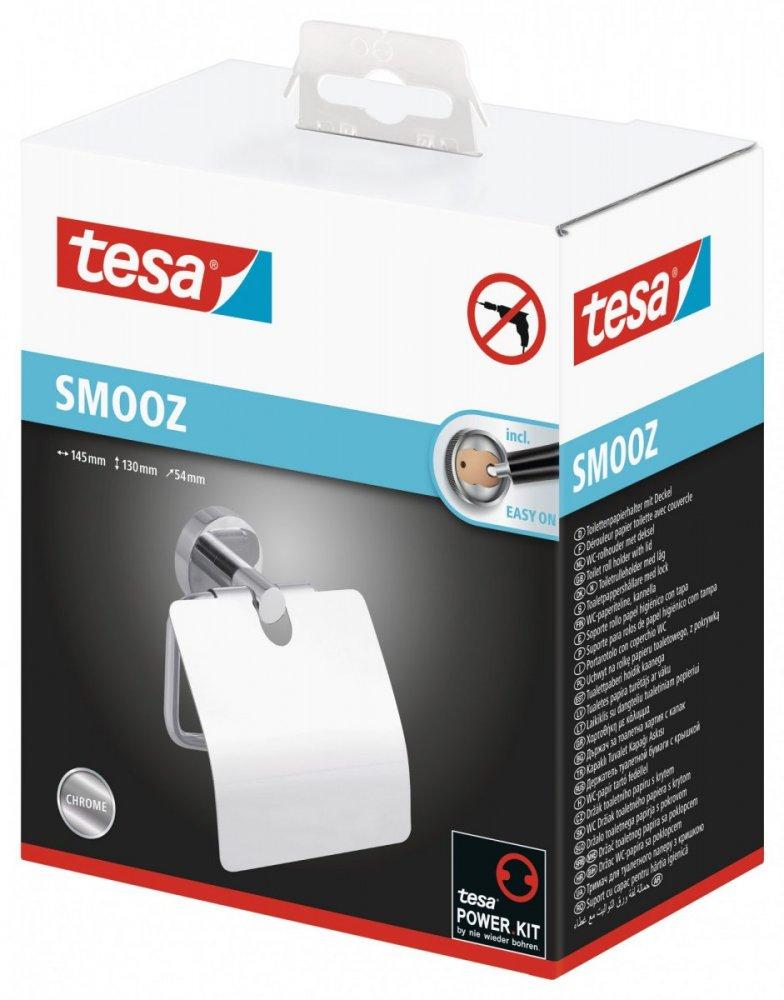 Smooz Držák toaletního papíru s krytem 130mm x 54mm x 145mm