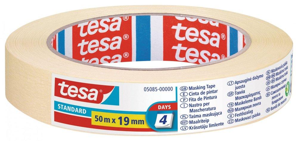 Maskovací páska STANDARD, odstranitelná do 2 dnů, 50m x 19mm