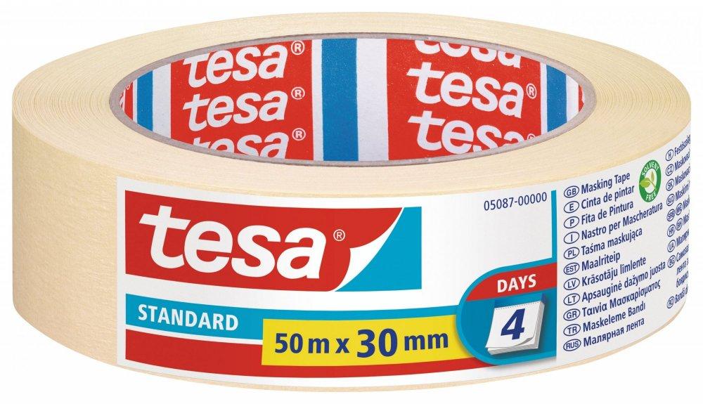Maskovací páska STANDARD, odstranitelná do 2 dnů, 50m x 30mm