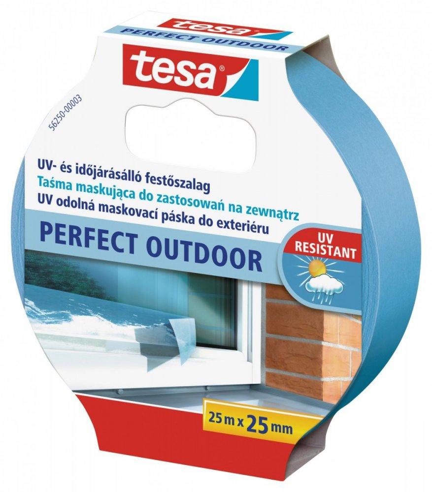 Maskovací páska Precision Outdoor, UV odolná 8 týdnů, modrá, 25m x 30mm