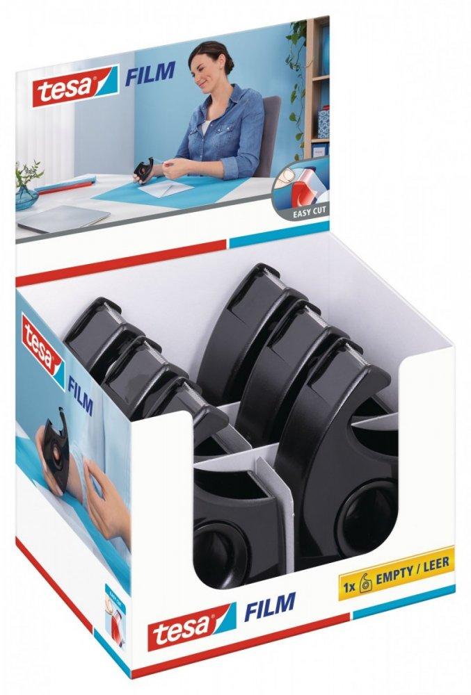 Easy Cut, Ruční odvíječ pásky ecoLogo®, černý, pro role 33m x 19mm
