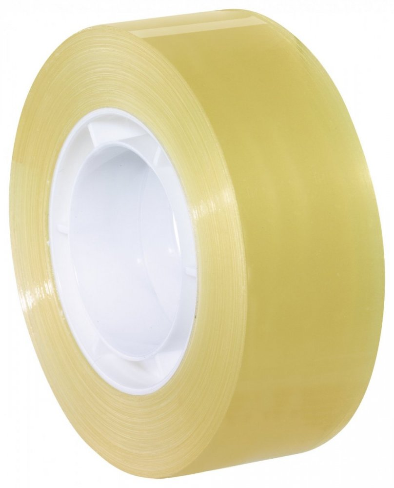 Kancelářská páska STANDARD, v sáčku, průhledná, 33m x 19mm
