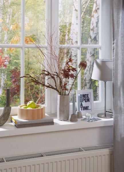 Gumové těsnění, bílé, na okna a dveře, E profil, 6m