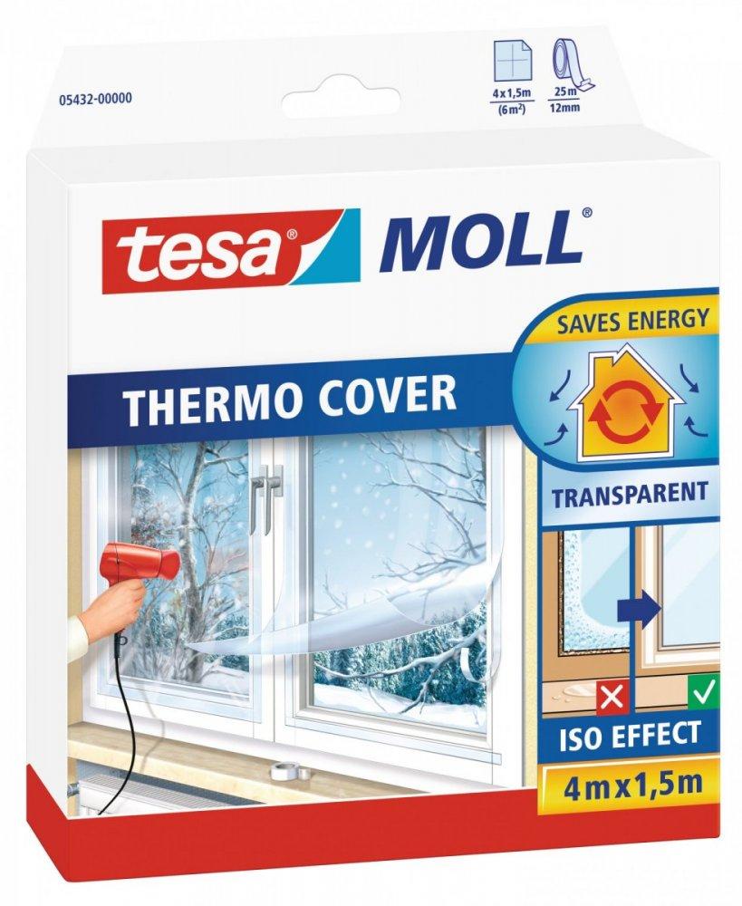Thermo Cover, transparentní fólie na rám okna, průhledná, 4m x 1,5m