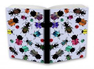 Tečkovaný zápisník, brouci, 195 x 135 mm