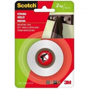 Silná montážní oboustranná páska 19mm x 1,5 m