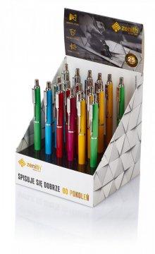 Kuličkové pero Zenith, základní barvy