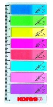 Neonové záložky Index Strips
