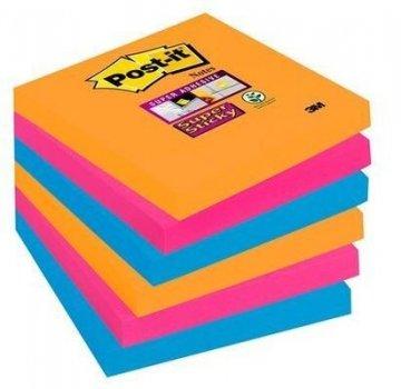 Silně lepicí bloček 654, 76x76, 6 bločků á 90 l, kolekce BANGKOK